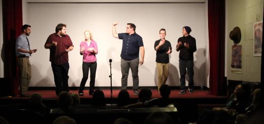 Oak City Comedy. Photo by Dennis Spielman.
