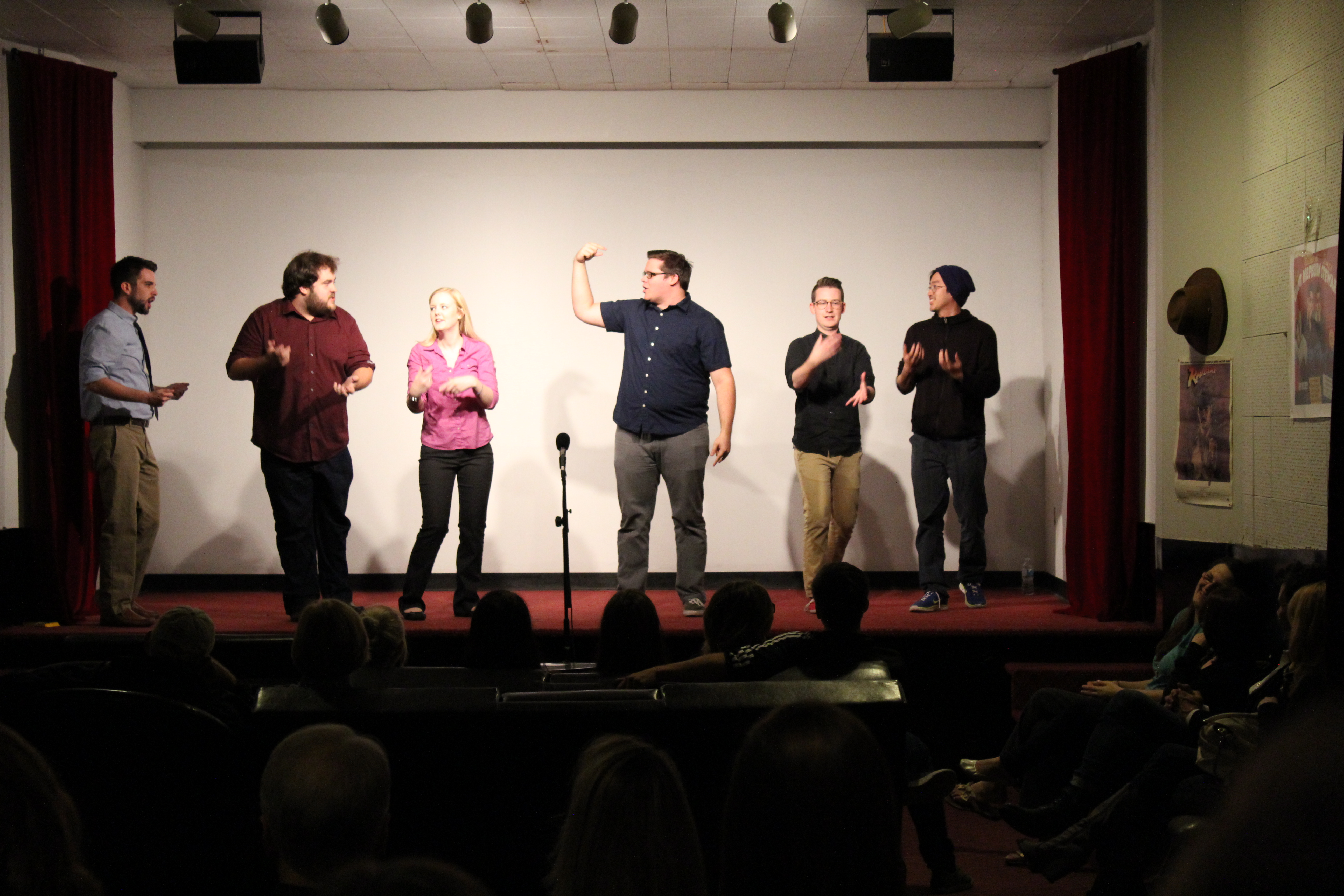 Oak City Comedy. Photo by Dennis Spielman.