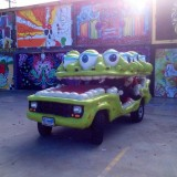 Oojah. Living Arts' very own ArtCar!