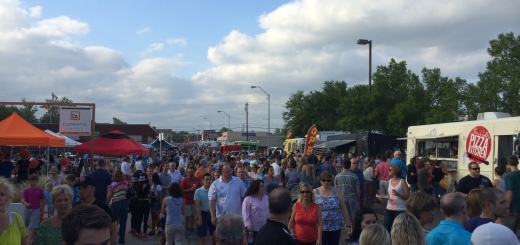 People at June 2014 Market Night. Photo by Dennis Spielman