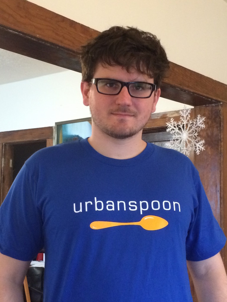 Dennis in Urbanspoon shirt