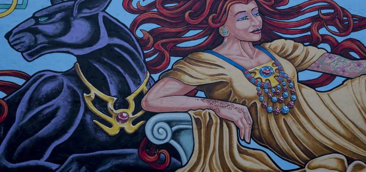 Downtown Norman - Tattoo Woman