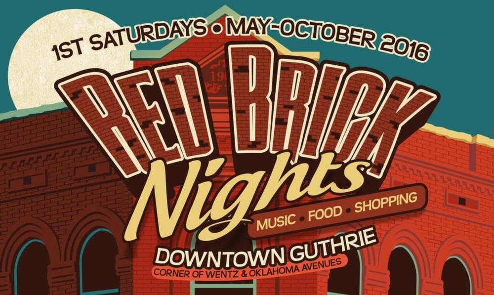 Red Brick Nights @ Downtown Guthrie | Guthrie | Oklahoma | United States