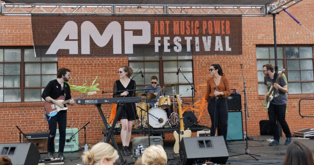 AMP (Art, Music, Power) Festival @ Fim Row | Oklahoma City | Oklahoma | United States