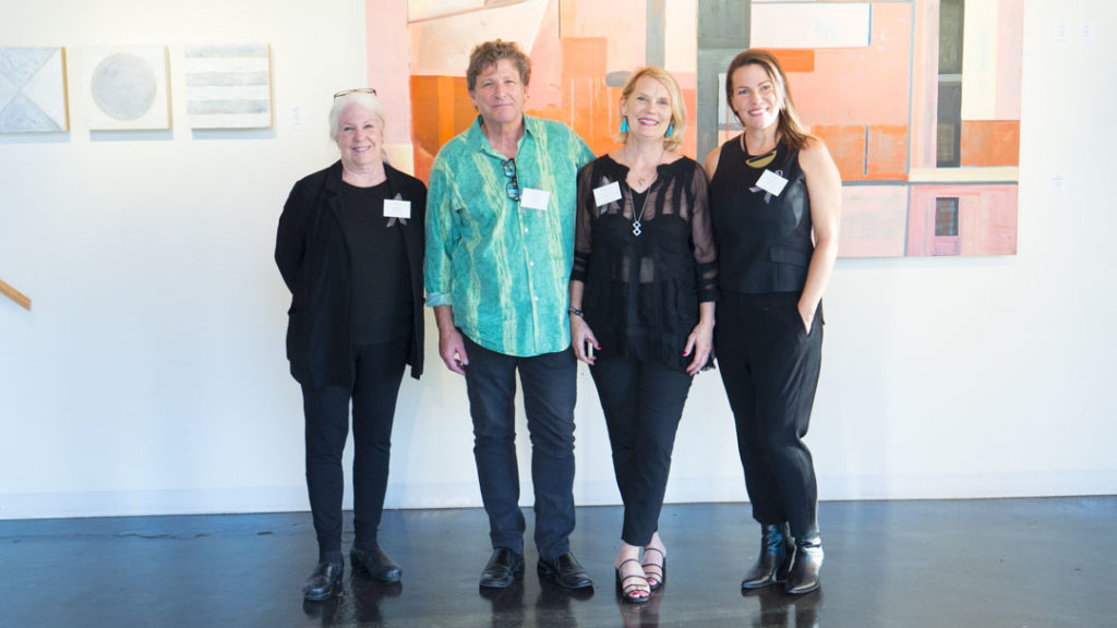 Suzanne Mears, Anthony Dyke, Susan Morrison-Dyke, and Christie Owen (left to right) - photo by Dennis Spielman